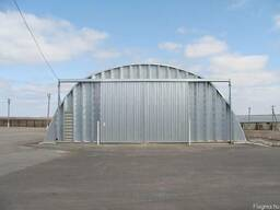 Arch buildings – hangars