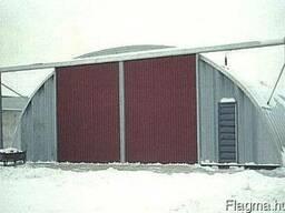 Быстромонтируемые арочные здания - ангары под склады, гаражи