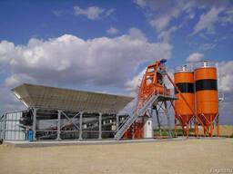 Быстромонтируемый бетонный завод F-60 (60 м3/ч) Швеция