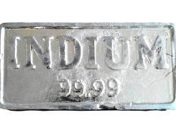 Indium Ingots | fém-indium márka, az InOO GOST 10297-94