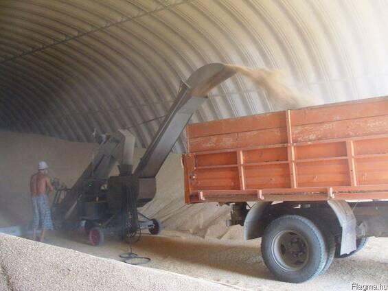 Зернохранилища для кукурузы, пшеницы и других зерновых